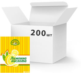 Упаковка лимонной кислоты Dr.IgeL 20 г х 200 шт (24820155170263) от Rozetka