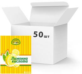 Упаковка лимонной кислоты Dr.IgeL 100 г х 50 шт (24820155170256) от Rozetka
