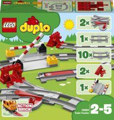 Акция на Конструктор LEGO DUPLO Town Рельсы 23 деталей (10882) (5702016117288) от Rozetka