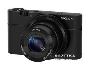 Акция на Фотоаппарат Sony Cyber-Shot DSC-RX100 Black (DSCRX100.CEE2) от Rozetka