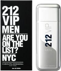 Акция на Туалетная вода для мужчин Carolina Herrera 212 VIP Men 100 мл (8411061723760) от Rozetka