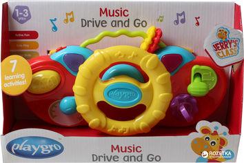 Акция на Игрушка музыкальная Playgro Руль (9321104844774) от Rozetka