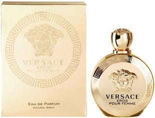 Акция на Парфюмированная вода для женщин Versace Eros Pour Femme 50 мл (8011003823529) от Rozetka