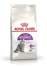 Акция на Сухой корм для котов от 1 года с чувствительным пищеварением Royal Canin Sensible 10 кг (3182550702355) (702355) от Rozetka