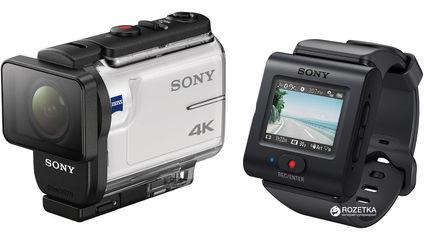 Акция на Видеокамера Sony FDR-X3000 с пультом RM-LVR3 (FDRX3000R.E35) от Rozetka