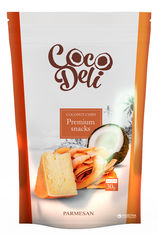 Упаковка чипсов кокосовых Coco Deli с сыром Пармезан 30 г х 18 шт (4820144210297_4820144210587) от Rozetka