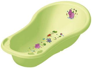 Детская ванночка Keeeper Hippo 100 см Зеленая (8437.16(QE)) от Rozetka