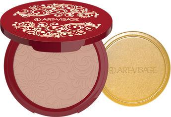Акция на Пудра компактная Art-Visage Silk Matte для всех типов кожи 24 темно-бежевый 7 г (4690327044830) от Rozetka
