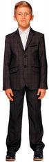 Акция на Костюм (пиджак + брюки) Alfonso 516/1-В 152 см Серый (ROZ6205115987) от Rozetka