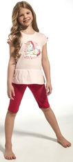 Пижама (футболка + шорты) Cornette 241-19/60 Unique 98-104 см Pink (5902458116577) от Rozetka