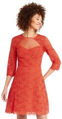 Акция на Платье Oasis Lace Sleeve Skater 061648-31 XXS (5054413250489) от Rozetka