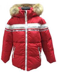 Акция на Зимняя куртка Wisdom 938 110 см Красная от Rozetka