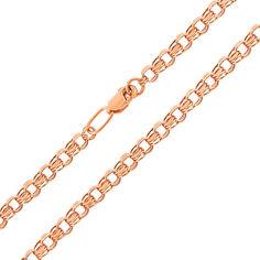 Акция на Цепочка из красного золота в плетении бисмарк 000125964 60 размера от Zlato