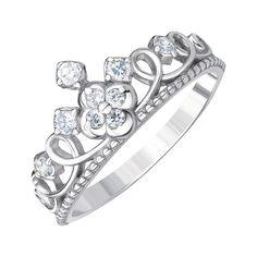 Акция на Серебряное кольцо с фианитами 000144043 17.5 размера от Zlato