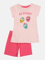 Пижама (футболка + шорты) Cornette 253-19/63 Sweet 98-104 см Pink (5902458116713) от Rozetka