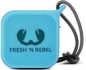 Акция на Акустическая система Fresh 'N Rebel Rockbox Pebble Small Bluetooth Speaker Sky (1RB0500SK) от Rozetka