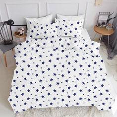 Акция на Комплект постельного белья Cosas Star Big Blue-El160-White 180х220 (4822052046258) от Rozetka