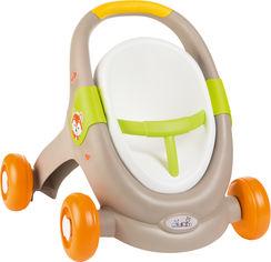 Акция на Коляска Smoby Toys Mini Kiss 3в1 Веселые животные (210206) (3032162102060) от Rozetka