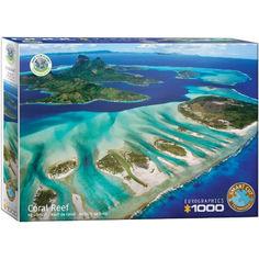 Акция на Пазл Eurographics Кораловый риф. Серия Спасем нашу планету, 1000 элементов (6000-5538) от Allo UA