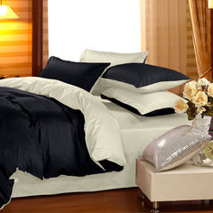 Акция на Комплект постельного белья Сатин Premium 0848 + 0840 Roger 1-спальный (2200002032254) от Rozetka