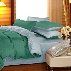 Акция на Комплект постельного белья Сатин Premium 0844 + 0843 Edward Евро (2200002028899) от Rozetka