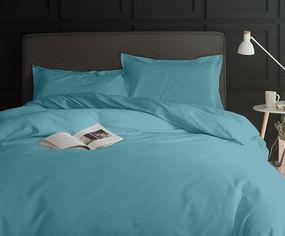 Акция на Комплект постельного белья MirSon Сатин 0845 Blue Wave 200х220 (2200002025454) от Rozetka