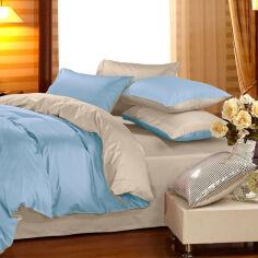 Акция на Комплект постельного белья Сатин Premium 0843 + 0841 Sandra Семейный (2200002028103) от Rozetka