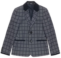 Пиджак Lilus 217П мод.12-2364 122 см 28 р Серый (ROZ6205091938) от Rozetka