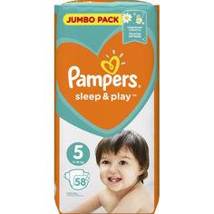 Акция на Подгузники Pampers Sleep & Play размер 5 (Junior) 11-16 кг, 58 шт (4015400203582) от Allo UA