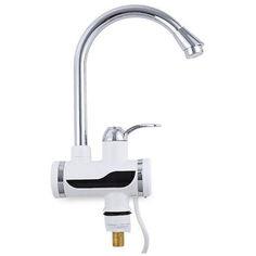 Акция на Кран-водонагреватель проточный, цифровой Wellamart (Арт. U019) от Allo UA