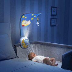 Акция на Мобиль Chicco Next2Moon голубой 09828.20 ТМ: Chicco от Antoshka