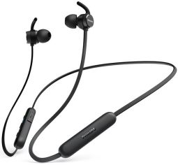 Акция на Наушники Bluetooth Philips TAE1205 In-ear Wireless Mic Black от MOYO