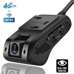 Акция на Автомобильный видеорегистратор с 4G + WIFI + GPS Jimi JC400P Aivision Cam PRO с online передачей видео через интернет от Allo UA