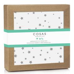 Акция на Пеленка Cosas непромокаемая Starwalls White  размер: 70х120 см от Podushka