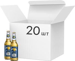 Акция на Упаковка сидра Де Сад Яблочный сухой 6.7% 0.45 л x 20 шт (4820034924655) от Rozetka