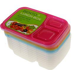 Акция на Набор контейнеров для еды Supretto на 3 отделения 7 шт (5820-0001) от Rozetka