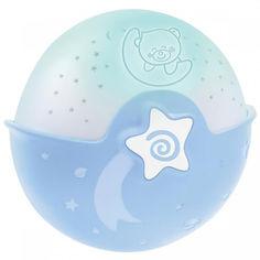 Акция на Ночник Infantino Спокойные сны Голубой от Allo UA