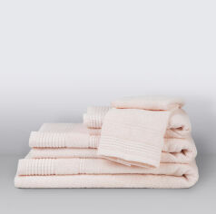 Акция на Махровое полотенце Toya coresoft Irya krem кремовое 50х90 см от Podushka