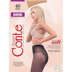 Акция на Колготки женские 40 Den Bikini Conte 8с-47сп bronz 2 от Podushka