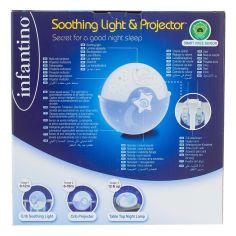 Акция на Светильник Infantino Спокойные сны, голубой 004627I ТМ: Infantino от Antoshka