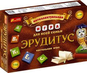 Акция на Настольная интелектуальная игра. Эрудитус от Book24