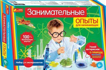 Акция на Набор для экспериментов Занимательные опыты для начинающих от Book24
