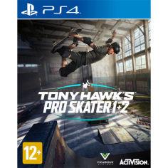Акция на Игра Tony Hawk Pro Skater 1&2 для PS4 (88473EN) от Foxtrot