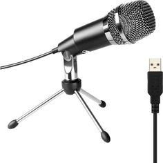 Акция на Cтудийный микрофон FIFINE K668 BLACK со стойкой от Allo UA