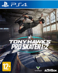 Акция на Игра Tony Hawk Pro Skater 1&2 для PS4 (Blu-ray диск, English version/Russian subtitles) от Rozetka