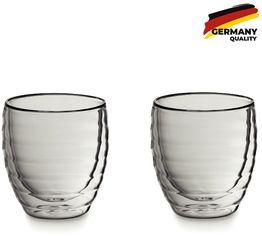 Акция на Набор стаканов Kela Cesena, 200мл, 2шт для капучино (12411) от Stylus