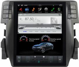 Акция на Автомагнітола штатна Gazer CM7010-FB4 для Honda Civic (FB4) 2016-2017 от Територія твоєї техніки