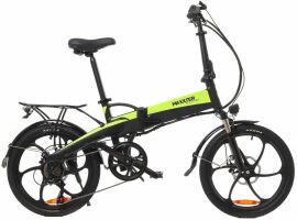 Акция на Электровелосипед Maxxter RUFFER Black/Green от Територія твоєї техніки