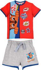 Костюм (футболка + шорты) Disney Paw Patrol SE1342 98 см Красный (3609083433001) от Rozetka