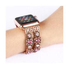 Акция на Ремешок для часов Apple Watch 38/40mm Agate Band LUX Pink от Allo UA